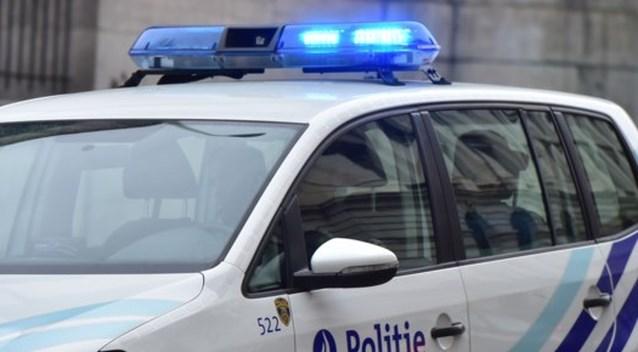 Wilde achtervolging door politie strandt in Zeebrugge