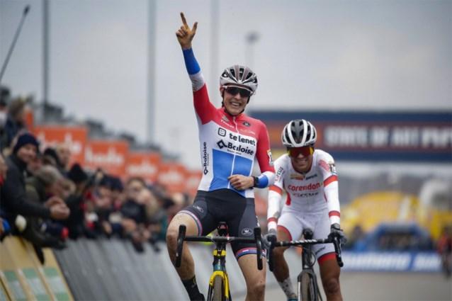 Ook Zolder is een prooi voor Nederlandse vrouwen: Lucinda Brand is andermaal de sterkste