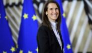 """Sophie Wilmès: """"Het is belangrijk dat jongeren zien dat ook een vrouw premier kan zijn"""""""