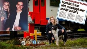 """Brent (20) stierf bij treinongeval, zijn vriendin Yentel (19) overleefde als bij wonder: """"Ik ben de helft van mezelf kwijt"""""""