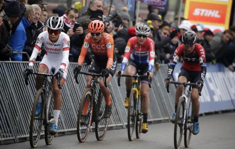 Ceylin del Carmen Alvarado slaat dubbelslag in Loenhout: winst en leidster in DVV-trofee
