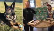 Politieagent ontroerd door troostend geschenk na het overlijden van zijn hond