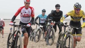 Nikolas Maes wint strandrace in Bredene