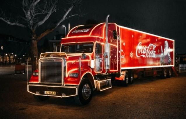 Coca-Cola Kersttruck doet opnieuw Aarschot aan