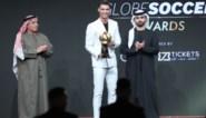 Cristiano Ronaldo voor de zesde keer verkozen tot Speler van het Jaar op Globe Soccer Awards