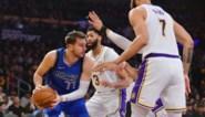 NBA. LA Lakers van LeBron James verslaan het Dallas van Luka Doncic, met een nieuwe mijlpaal voor 'The King'
