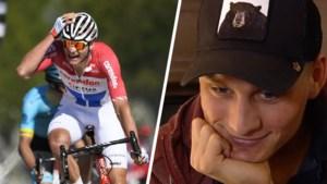 """Mathieu van der Poel herbeleeft zijn triomf in de Amstel Gold Race: """"Het is de enige koers waarvan ik kippenvel krijg"""""""