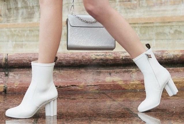 Ideaal voor bij ons: Louis Vuitton lanceert collectie regenlaarzen