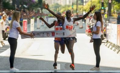 In extremis een kandidaat voor dé finishfoto van het jaar: Keniaan treedt met ultieme sprint in voetsporen van Gaston Roelants