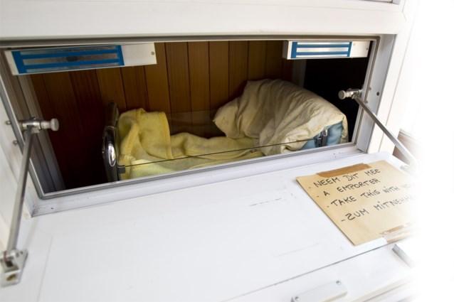 Sinds het ontstaan van de vondelingenschuif zijn er al achttien baby's in gevonden, vorig jaar was dat Johannes