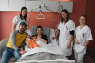 Lio is eerste Kempense baby van 2020