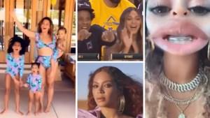 Beyoncé gunt ons uitzonderlijk een unieke blik op haar privéleven in 'Bey-Cap': van matching badpakken met kindjes tot verjaardagsfeesten