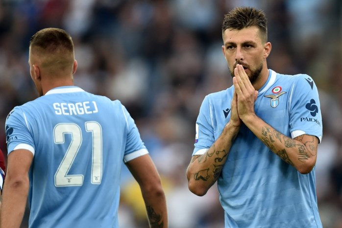 """Het verhaal van Lazio-verdediger Francesco Acerbi leest als een trein: """"Het klinkt vreselijk, maar die kanker heeft mij gered"""""""
