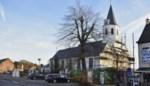 Betonblokken op kruispunt Zeveneken-dorp en Sint-Elooistraat