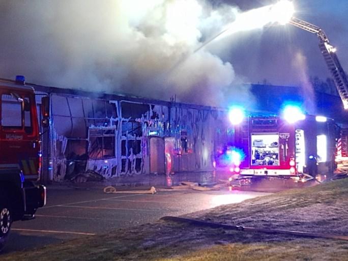 Zware brand in metaalbewerkend bedrijf in Roeselare