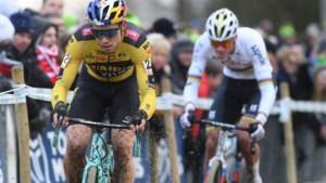 """Wout van Aert grijpt naast podiumplaats in Gullegem en tempert verwachtingen voor BK: """"Ik maak nog te veel foutjes"""