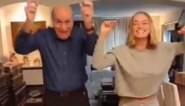 Ook papa Jacques kan er iets van: 'Dancing With The Stars'-winnares Julie Vermeire test de dansheupen van haar vader