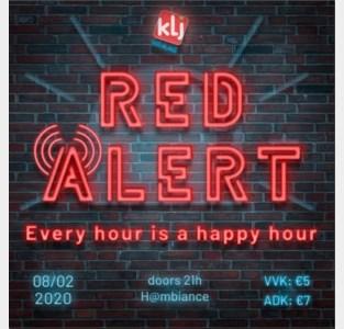 KLJ organiseert negende 'Red Alert'