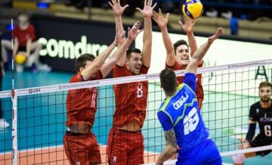 Sterke prestatie helpt Red Dragons geen stap vooruit: Belgische volleymannen onderuit tegen Slovenië