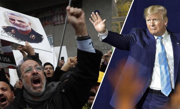 """Crisis met Iran dreigt helemaal over te koken, met premie van 80 miljoen op het hoofd van Trump: """"Dood aan Amerika"""""""