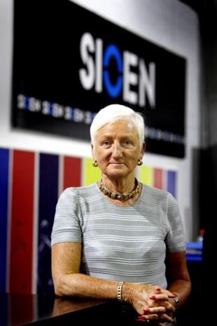 Jacqueline Sioen overleden (77): de vrouw die dankzij hard werk en niet te veel omkijken van haar bedrijf een wereldspeler maakte