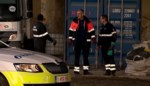 VIDEO. Zestig bidons met onbekende vloeistof gevonden aan Straatsburgdok