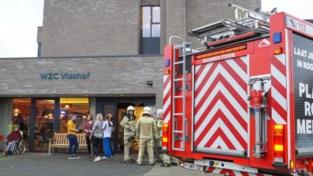 Medisch interventieplan afgekondigd bij brand in rusthuis Het Vlashof