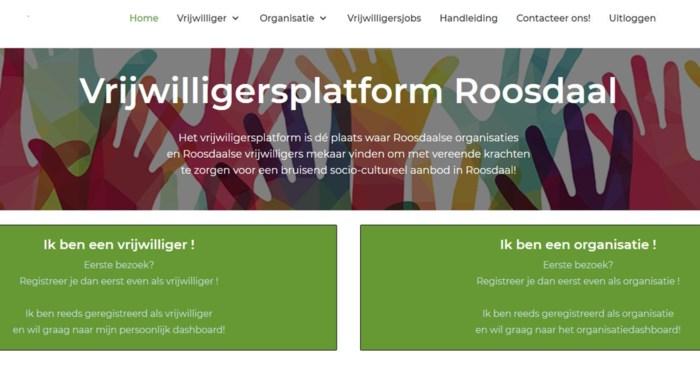 Vrijwilligers en verenigingen vinden elkaar online in Roosdaal