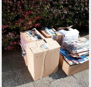 Aparte ophaalrondes voor Papier en Karton, belangrijk om je afvalkalender te checken.