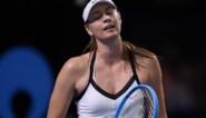 Maria Sharapova gaat onderuit bij rentree
