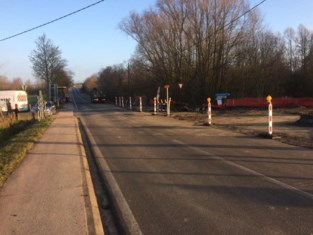 Ninoofsesteenweg gaat opnieuw dicht vanwege wegenwerken