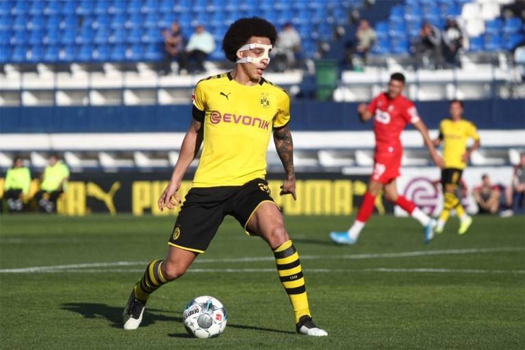"""Gemaskerde Axel Witsel speelt weer voor Dortmund: """"Standard? Dat is voor mij nog altijd mijn thuis"""""""