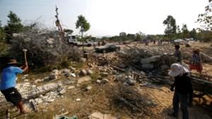 36 doden door ingestort gebouw in Cambodja: eigenaars aangeklaagd