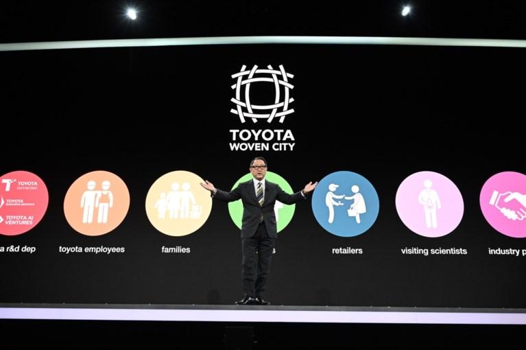 """Toyota gaat """"stad van de toekomst"""" bouwen in Japan"""