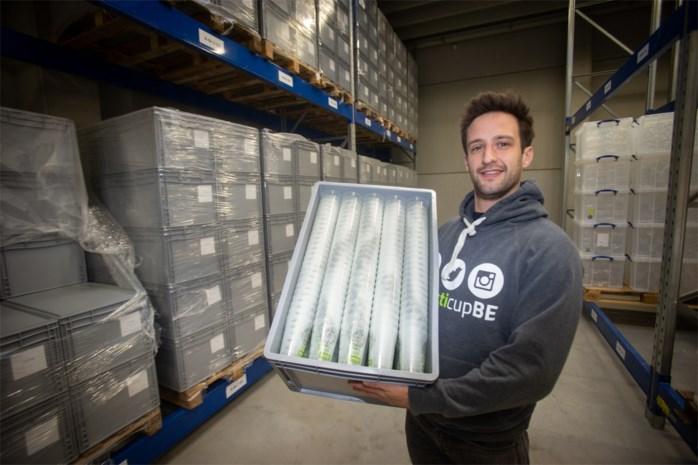 Uitleendienst met 150.000 herbruikbare bekers uitgebreid