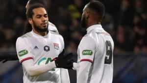 Jason Denayer en Olympique Lyon plaatsen zich voor halve finales Coupe de la Ligue