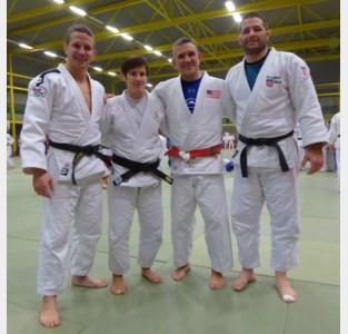 Hoog olympisch bezoek op lokale judomat