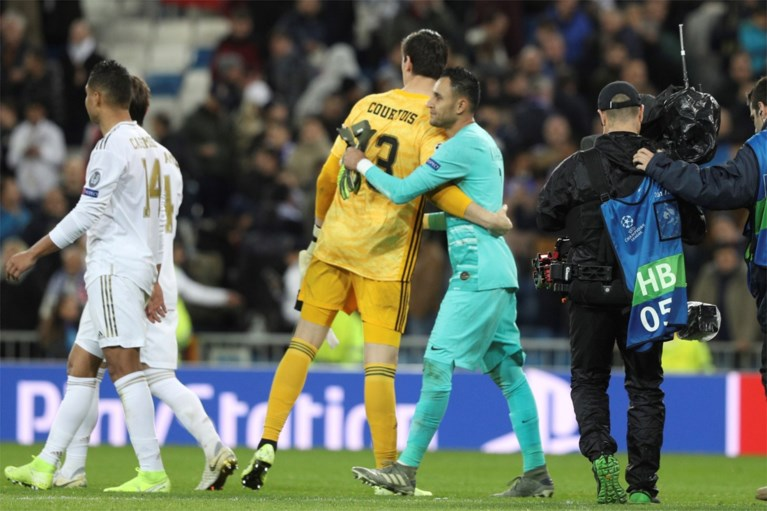 """Thibaut Courtois keept bevrijd bij Real Madrid: """"Het vertrek van Keylor Navas heeft me wel geholpen"""""""