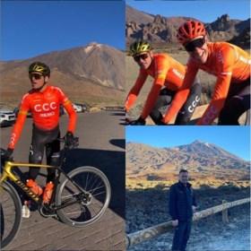 """Greg Van Avermaet traint nu al op meer dan 2.000 meter hoogte: """"Ik wilde eens wat anders"""""""