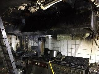 Brandweerman raakt gewond bij brand in Chinees restaurant