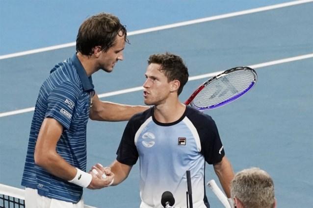 Rusland en Australië staan in halve finales ATP Cup