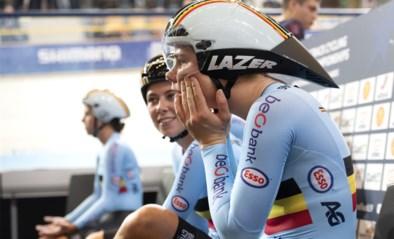 """Wielrenster Annelies Dom is enkele weken out na zware val op training in Gent: """"Mijn stuur boorde zich door mijn rechterdij"""""""