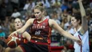 """Belgian Cat Kyara Linskens krijgt collega Kim Mestdagh ei zo na aan het dansen met geweldige wedstrijd: """"Kikiiiiiii!"""""""