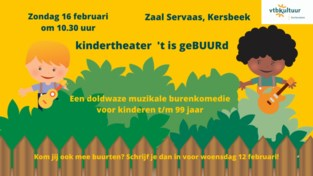 Kindertheatervoorstelling 't is geBUURd met vtbKultuur Kortenaken
