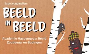 Jongeren stellen tentoon in Beeld in Beeld