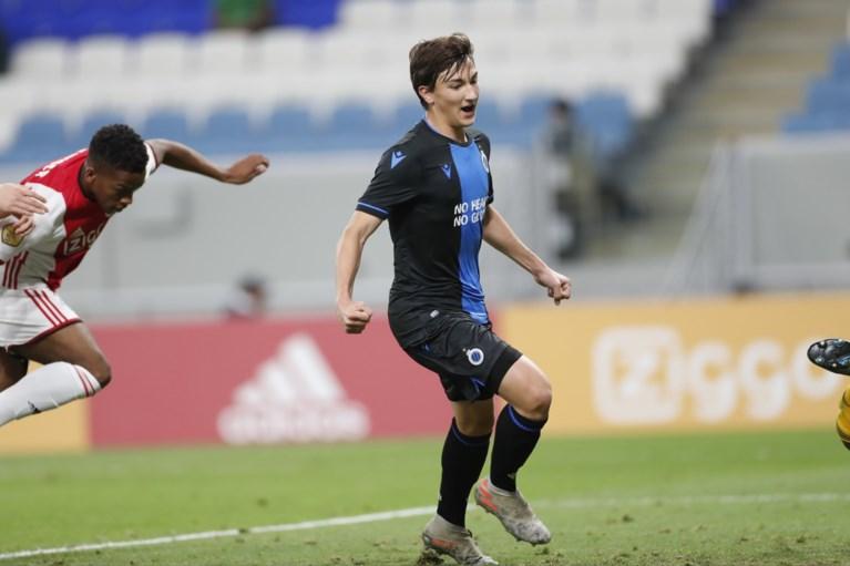 Club Brugge krijgt voetballesje maar jongeren redden de eer in galamatch tegen Ajax