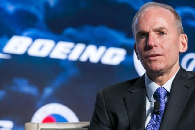 CEO van Boeing krijgt geen opstapvergoeding (maar verlaat het bedrijf wel met 55 miljoen)