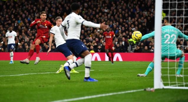 Liverpool heeft uniek record beet: ook Tottenham kan pletwals niet afstoppen