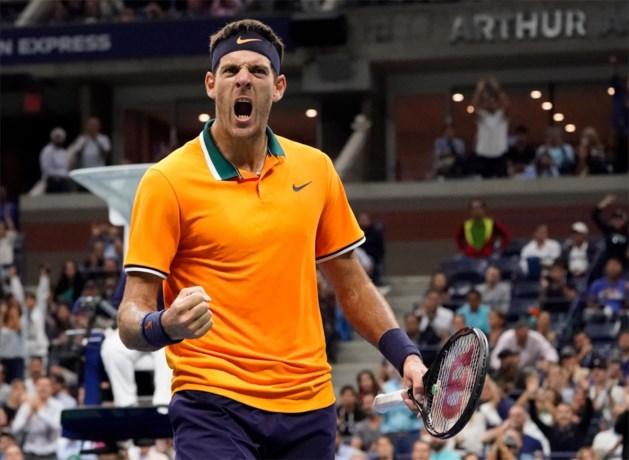 Knieblessure houdt Juan Martin del Potro ook weg van Australian Open