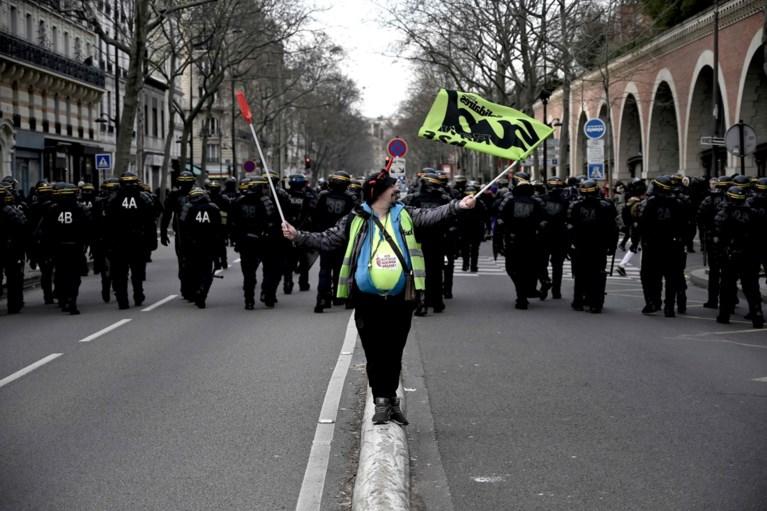 Opnieuw incidenten in Parijs tijdens betoging met 150.000 manifestanten
